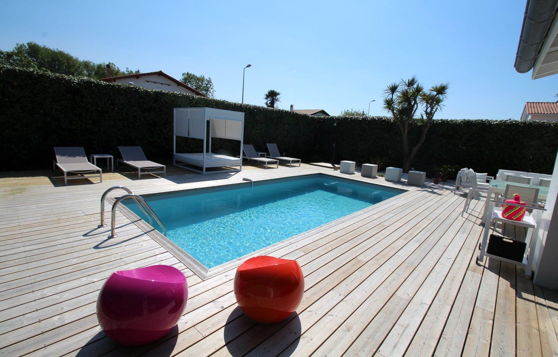 maison bidart 5 pièces piscine Guethary Immobilier