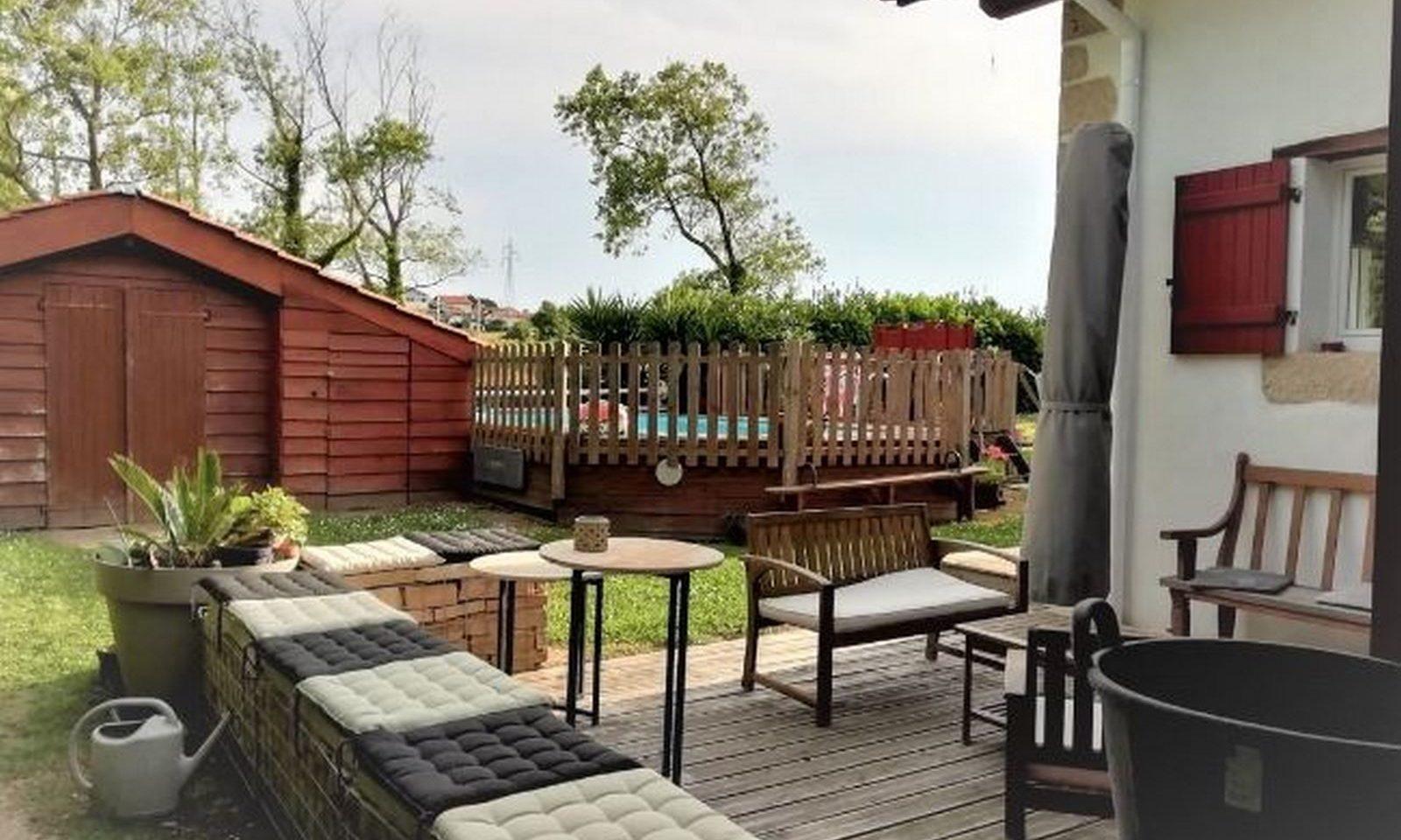 vente maison 5 pièces bidart piscine guethary immobilier